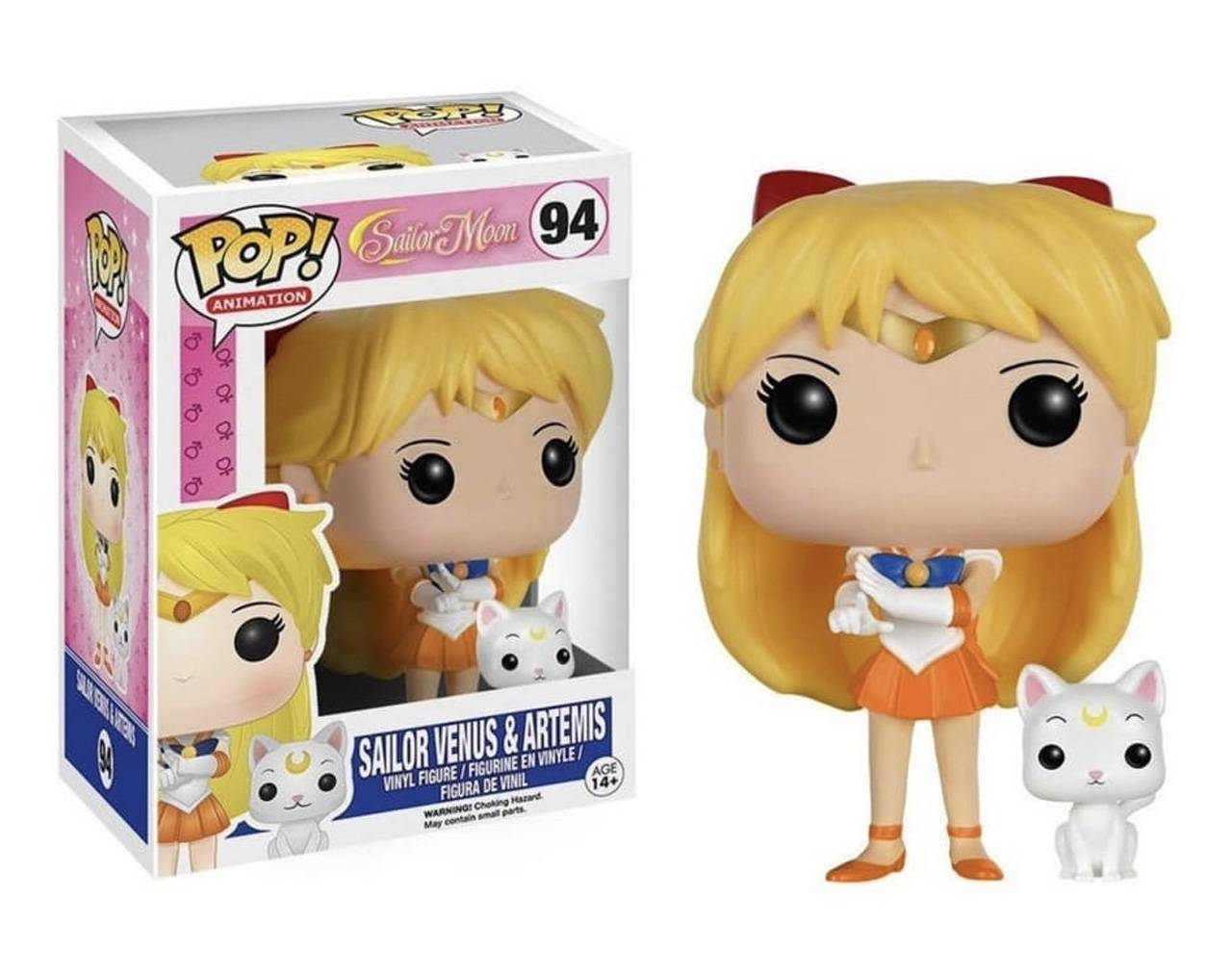 Sailor Venus & Artemis Pop! Vinyl