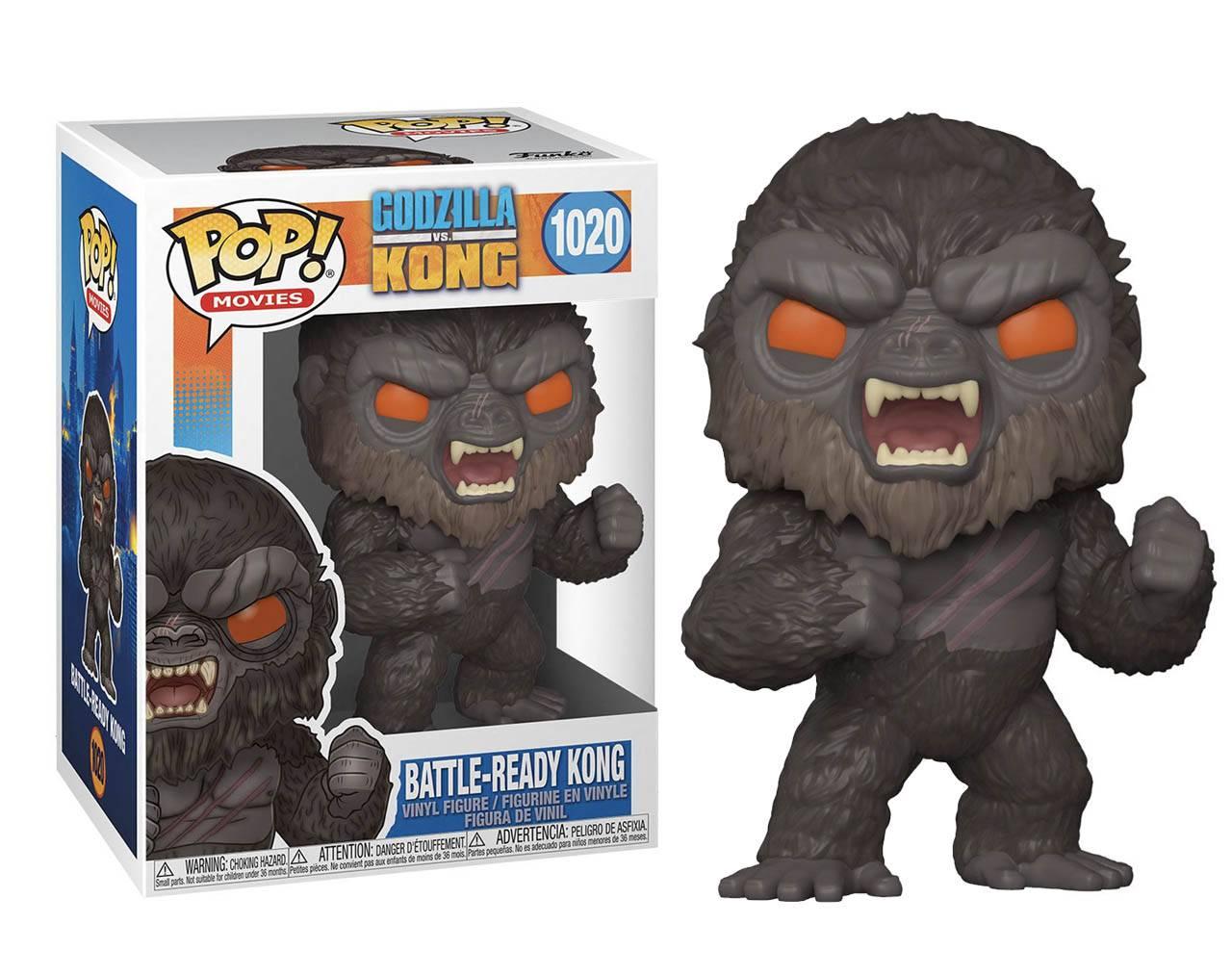 Kong (Battle-Ready) Pop! Vinyl