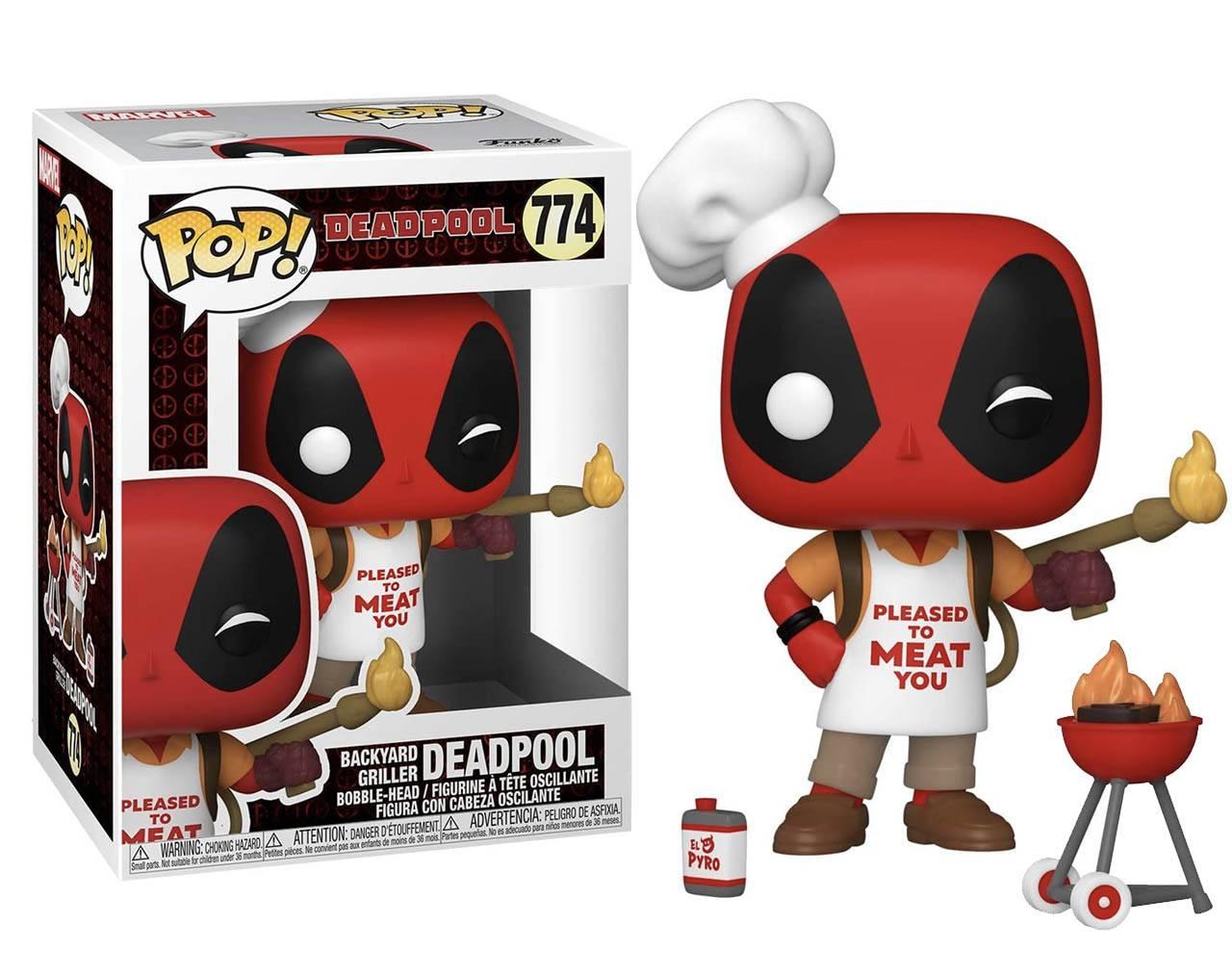 Backyard Griller Deadpool (30th Anniversary) Pop! Vinyl