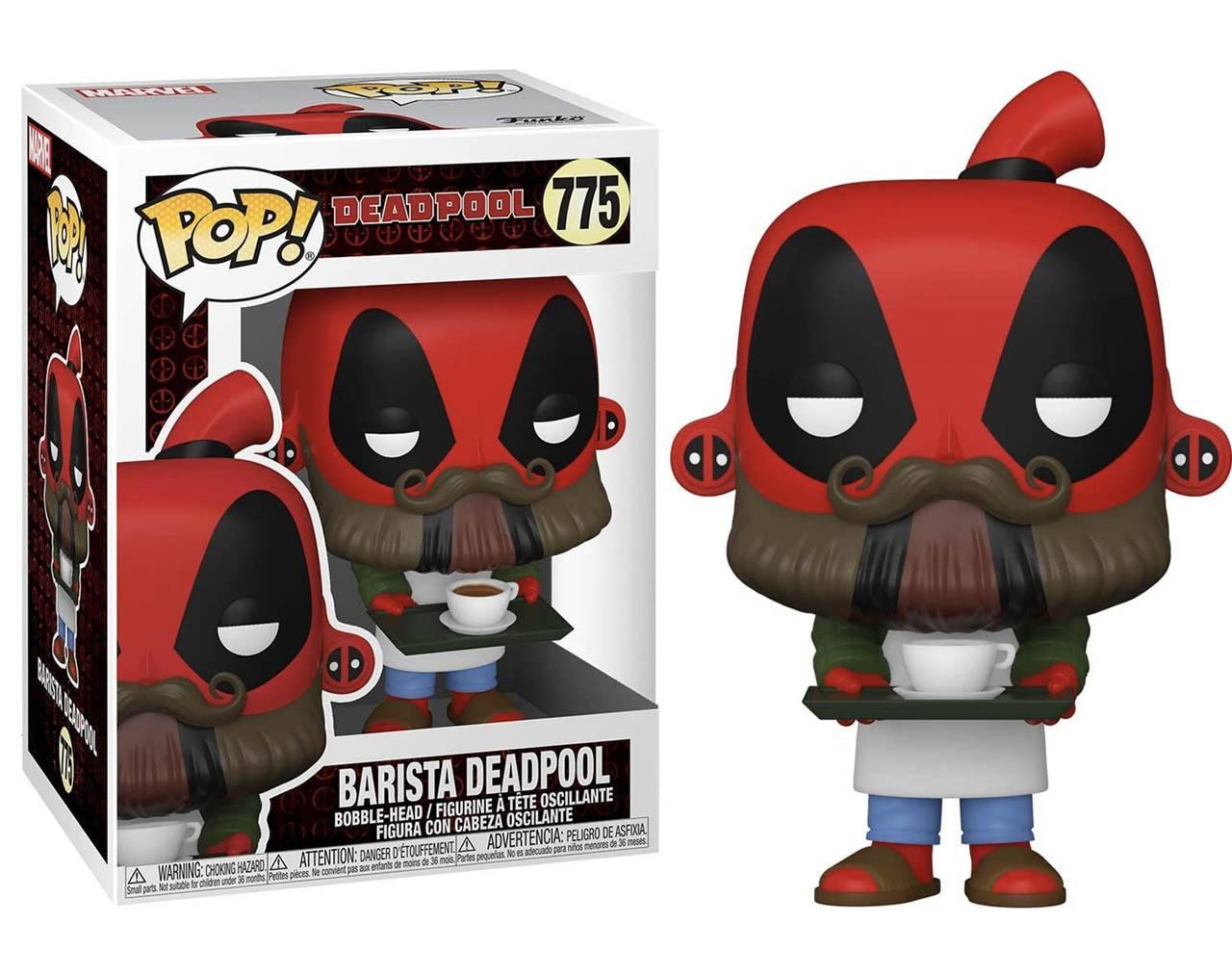 Barista Deadpool (30th Anniversary) Pop! Vinyl