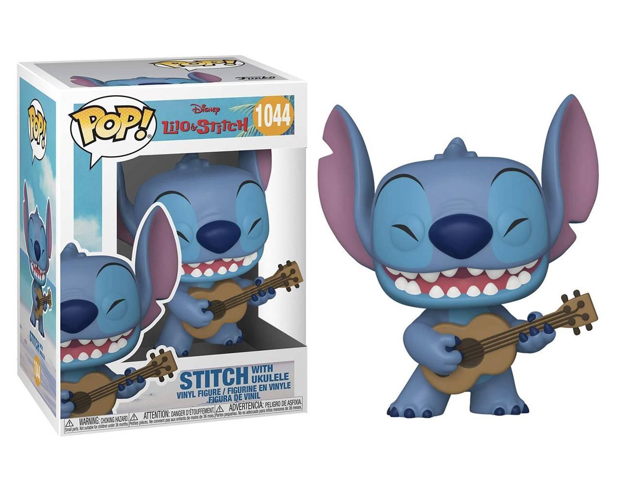 Stitch with Ukulele Pop! Vinyl