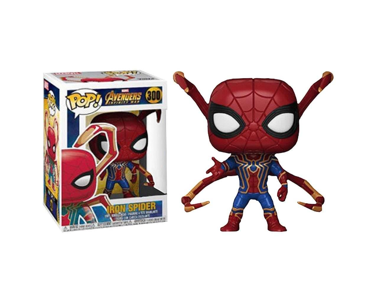 Iron Spider with Legs Pop! Vinyl
