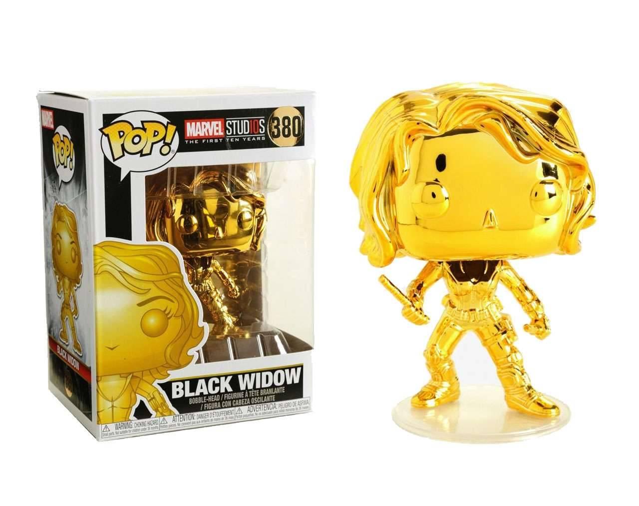 Black Widow (Chrome) Pop! Vinyl