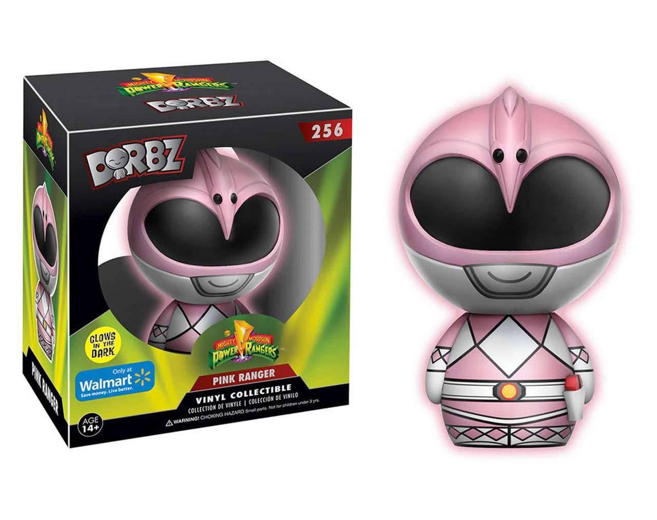 Pink Ranger GITD Dorbz Vinyl