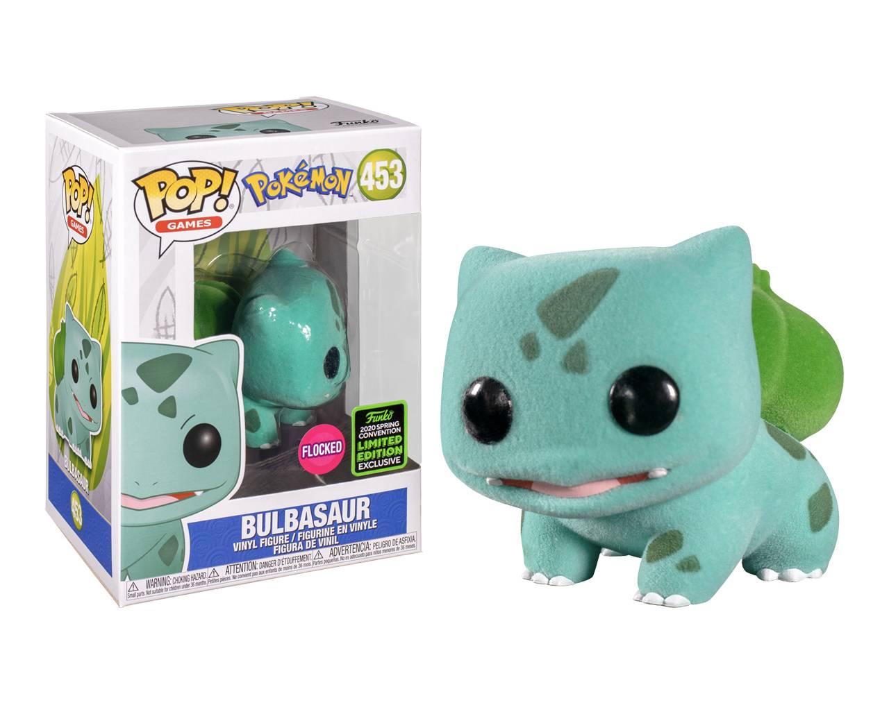 Bulbasaur (Flocked ECCC2020) Pop! Vinyl