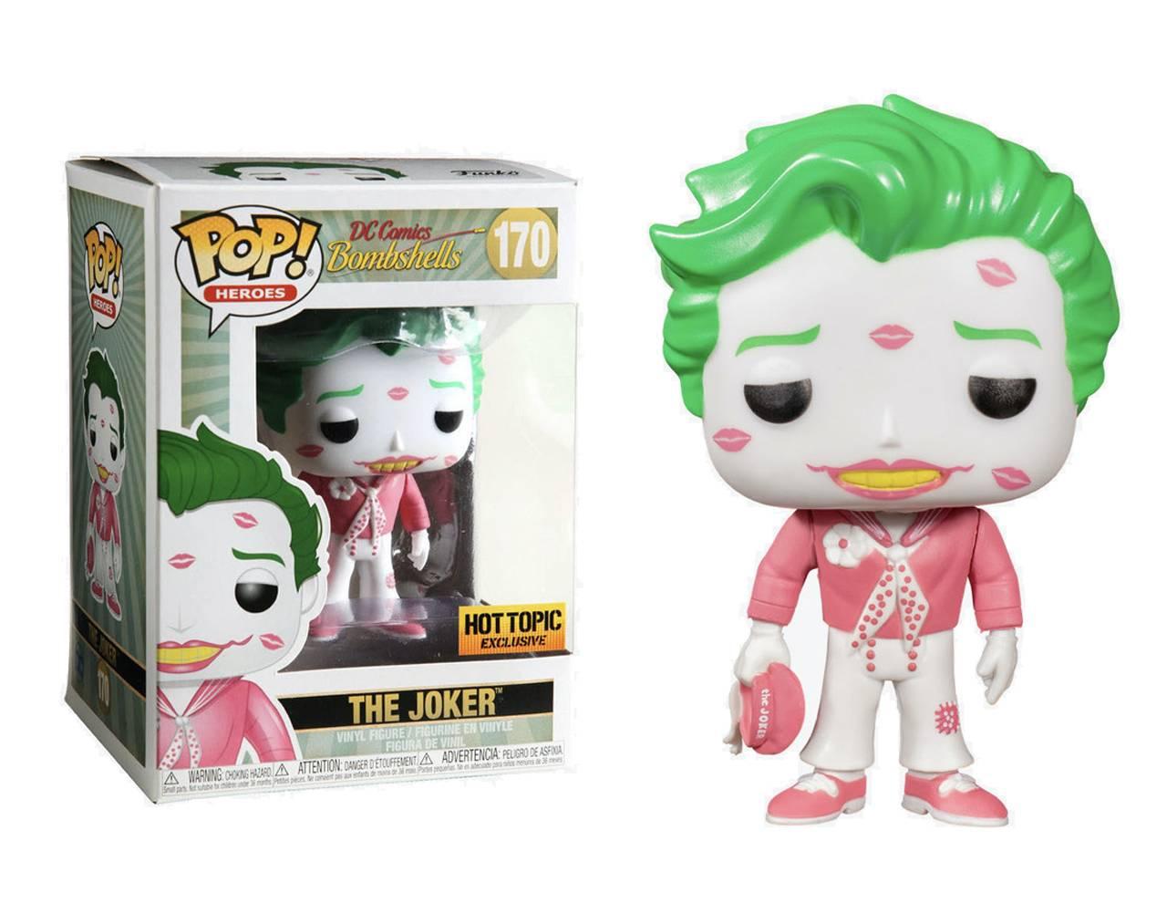The Joker with Kisses (Pink) Pop! Vinyl
