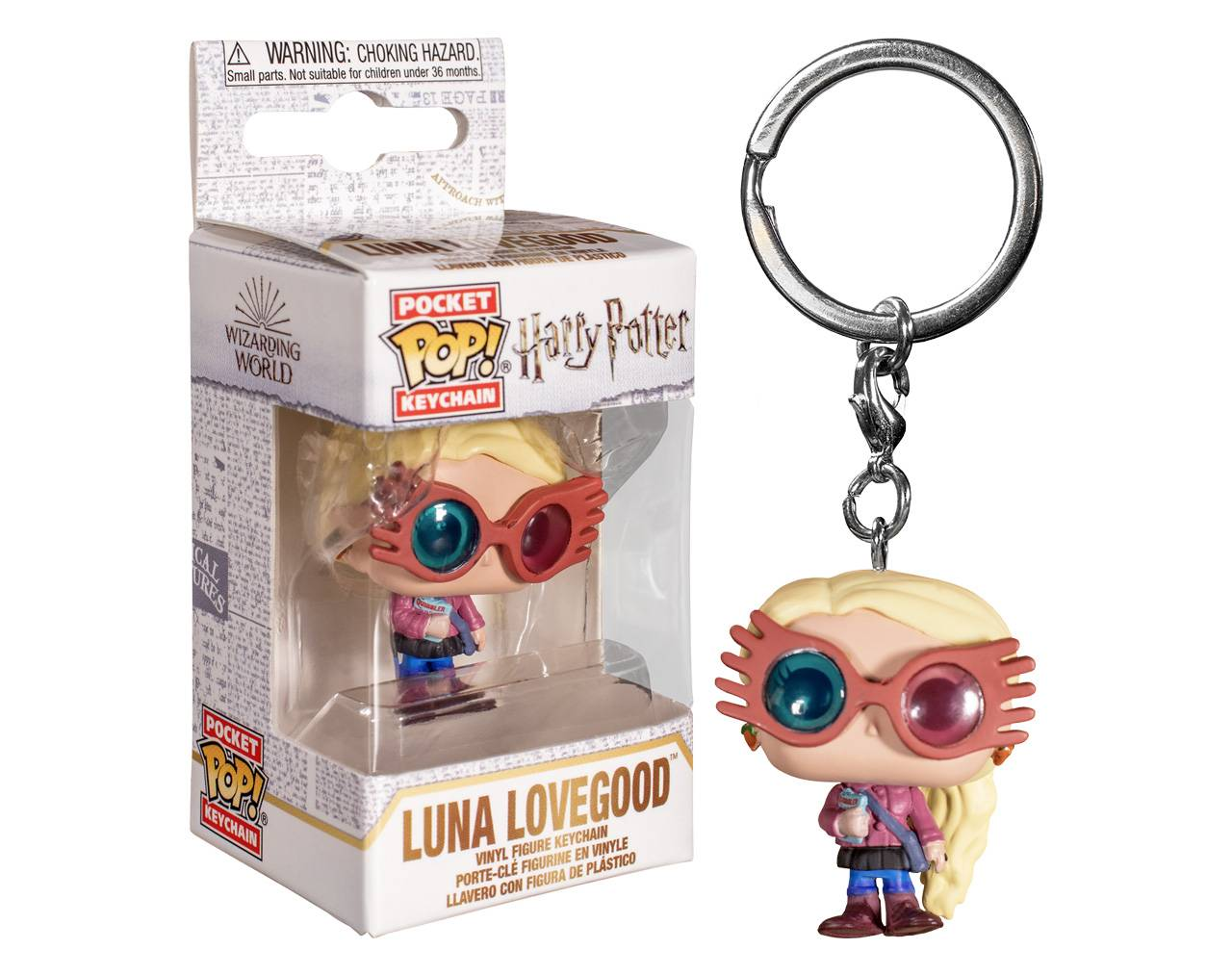Luna Lovegood (Llavero) Pop! Vinyl