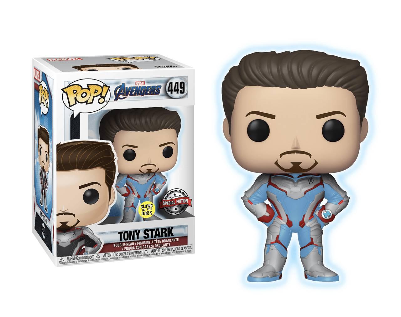 Tony Stark (GITD) Pop! Vinyl