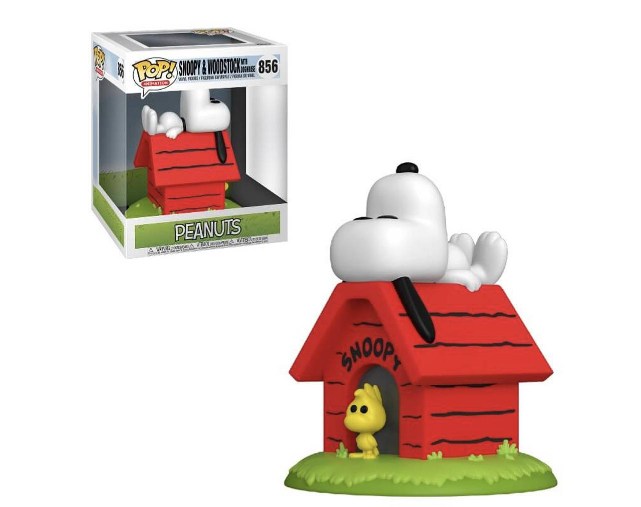Snoopy & Woodstock with Doghouse Pop! Vinyl
