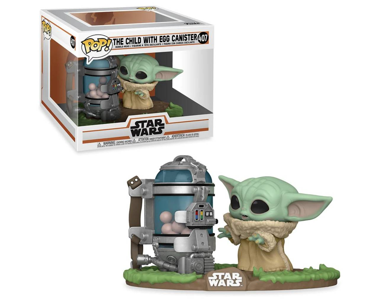 The Child with Eggs Canister Pop! Vinyl